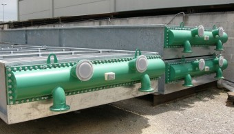 AIRCOOLER, PLANT: REFINERY TARANTO ITALY, CLIENT: GEA HEAT EXCHANGER - MONVALLE (VARESE) ITALY