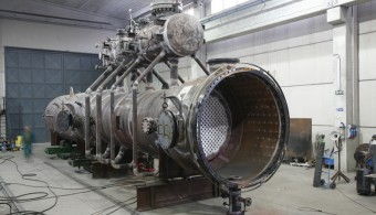 WASTE HEAT BOILER + THERMAL REACTOR + STEAM DRUM, PLANT: REFINERY SINES PORTUGAL, CLIENT: TECNICAS REUNIDAS - MADRID ESPANA