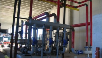 SERVICE PIPING, PALNT: COMPLETE AUTOCLAVE SYSTEMS FOR THERMAL TREATMENT OF COMPOSITE MATERIALS ALENIA PLANT GROTTAGLIE ITALY, CLIENT: SCHOLTZ - GERMANY (DA RECUPERARE)