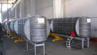 U TUBE BUNDLES OF HEAT EXCHANGERS CRACKING REACTOR EFFLUENT/RECYCLE GAS HOT EXCHANGER, PLANT: OJSC LUKOIL VOLGOGRAD RUSSIA, CLIENT: EXTERRAN / BELLELI ENERGY CPE - MANTOVA ITALY