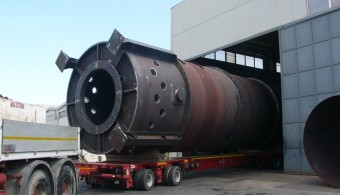 INCINERATOR FOR NEW GAS BOOSTER STATION BS-171, K.O.C. WEST KUWAIT, CLIENT: ITAS S.P.A. - MONZA (MILAN) ITALY