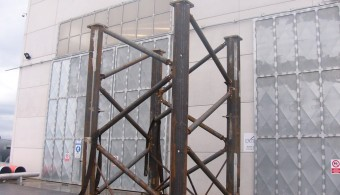 MODULAR TOWERLIFT EXTREMELY HEAVY DUTY STRUCTURAL SUPPORT SYSTEM FOR USE WITH STRAND JACKS, CLIENT: FAGIOLI S.P.A. - REGGIO EMILIA ITALY